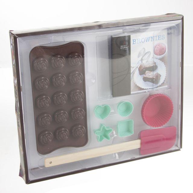 Secret De Gourmet Coffret Chocolatier et livre de recettes