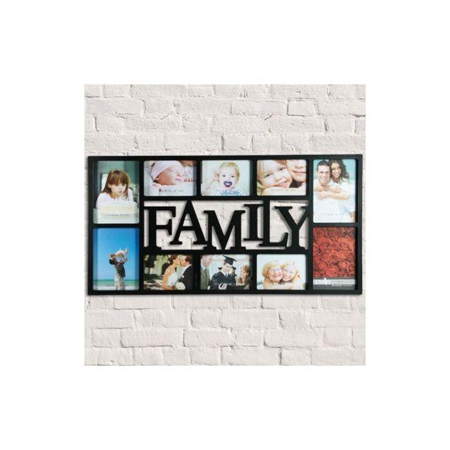Vimeu-Outillage Cadre Family 10 Photos Blanc