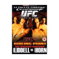 Fight Dvd - Ultimate Fighting Championship - 54: Boiling Point Import anglais
