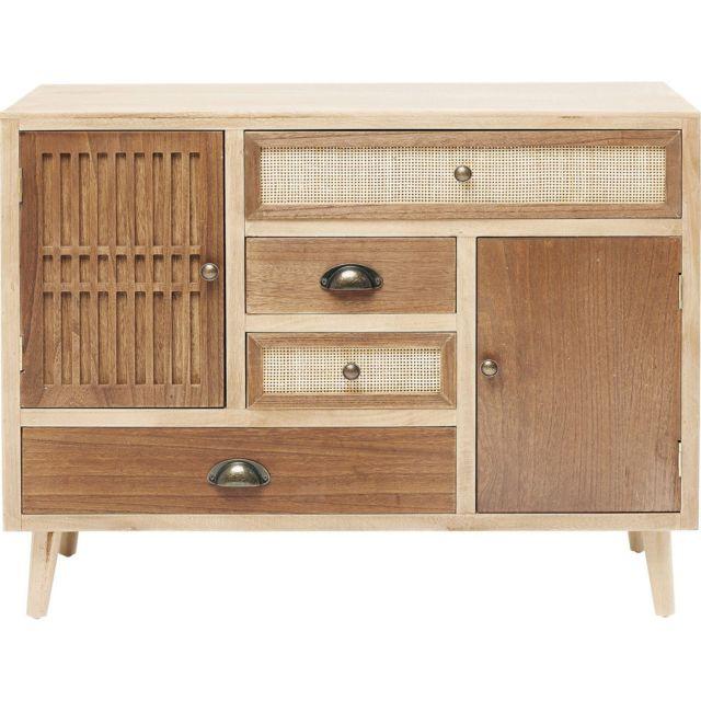 Karedesign Commode Samos 4 tiroirs 2 portes Kare Design