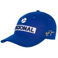 Ayrton Senna - Casquette Nacional bleue