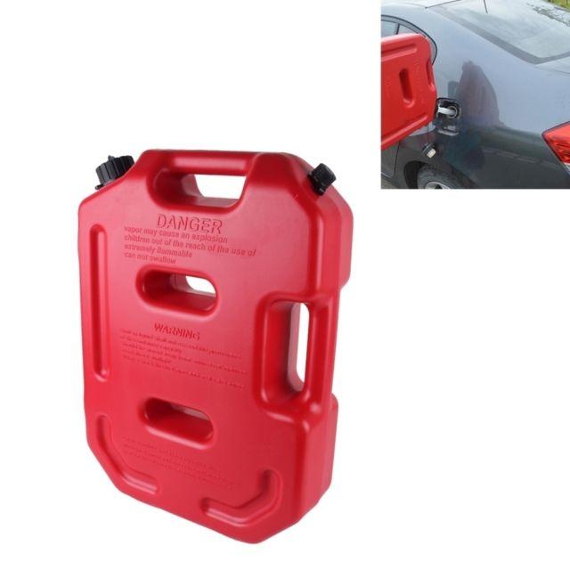 wewoo jerrycan rouge r servoirs de carburant d 39 essence en plastique 2 6 gallons 10 litres. Black Bedroom Furniture Sets. Home Design Ideas