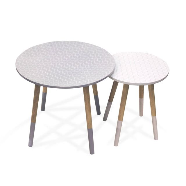 The Concept Factory Tables basses gigognes trius