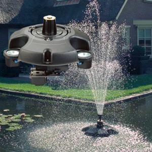 Oase pompe pour jeux d 39 eau flottant 1 jet 270w pond for Pompe a eau pour bassin poisson