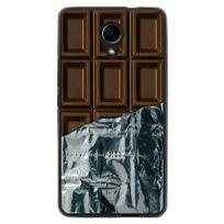 Kabiloo - Coque souple pour Wiko Robby avec impression Motifs tablette de chocolat