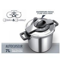 CuisineCooking - Autocuiseur 7 L. Inox Cuisine & Cooking