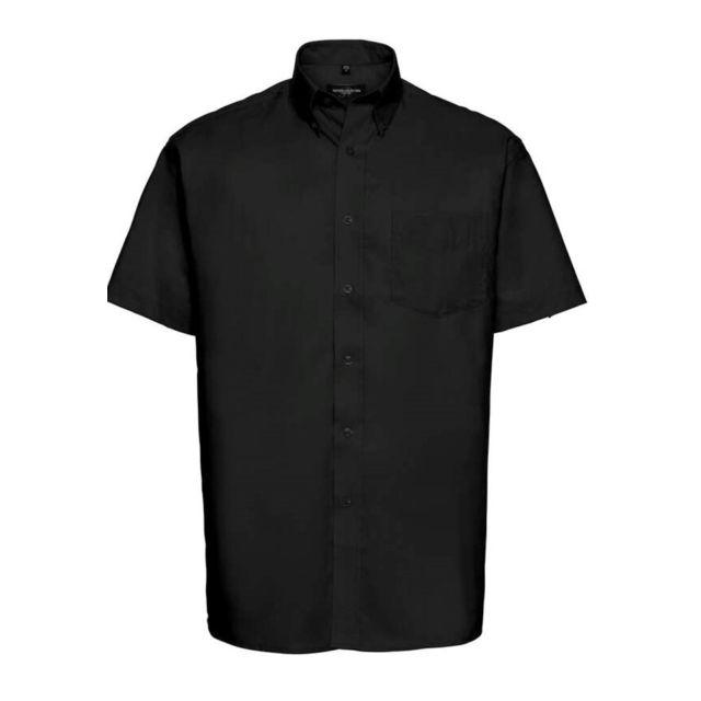 Fashion Cuir Chemisette Oxford repassage minimum Taille Homme - Xxl, Couleur - noir