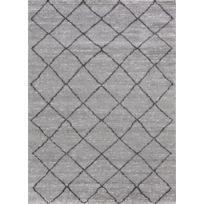 Tapis de salon Berbère 22463 gris noir 60x110cm