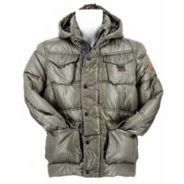G-star Raw - Doudoune G-star Whistler Hooded Pocket Puffer Jacket Kaki