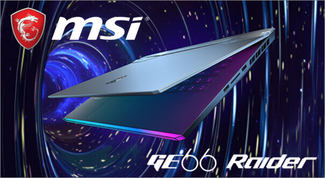 MSI GE66 Raider