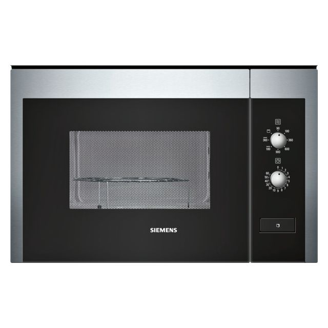 SIEMENS micro-ondes + grill encastrable 25l 900w inox - hf22g564