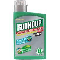 Roundup - désherbant grandes surfaces concentré 800ml - gtx800b