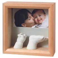 "Baby Art - Kit d'Empreinte ""My Baby Sculpture"" - Cadre Empreintes 3D"