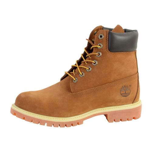 timberland chaussure af 6 inch premium rust orange pas cher achat vente boots homme. Black Bedroom Furniture Sets. Home Design Ideas