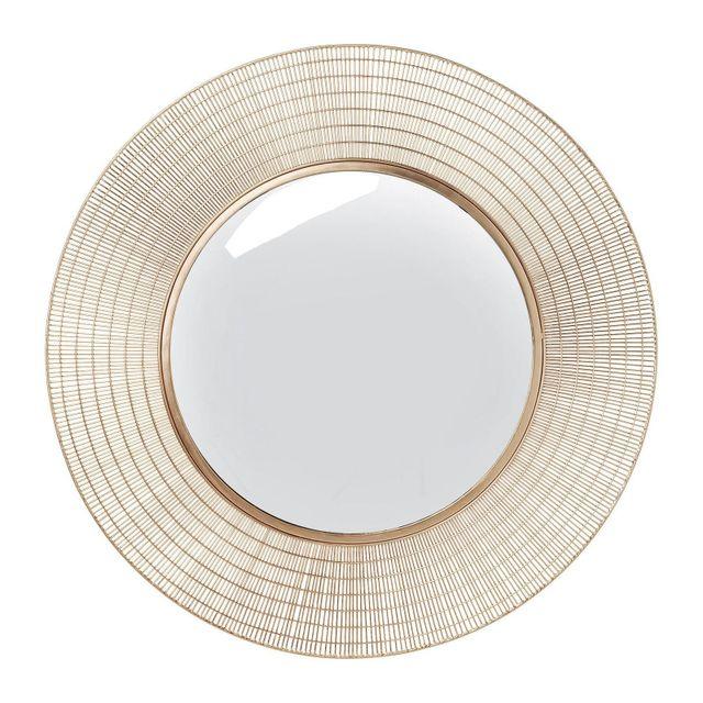 Karedesign Miroir Nimbus cuivre 90cm Kare Design