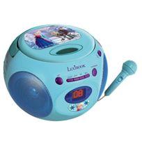 Lexibook - Rcd102FZZ - Radio Lecteur Cd Avec Micro - Disney - La Reine Des Neiges - Rcd102FZZ