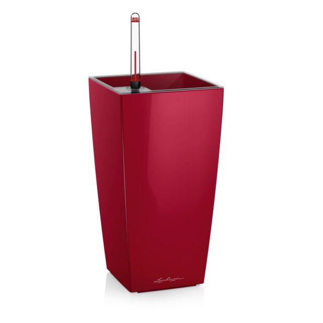 Pot de table Maxi-Cubi - kit complet, rouge scarlet brillant 26 cm