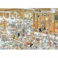 Jumbo - Puzzle 1000 pièces - Jan Van Haasteren : Dans la cuisine