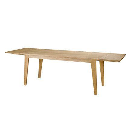 Table repas 180x90x76 cm avec allonges - Track