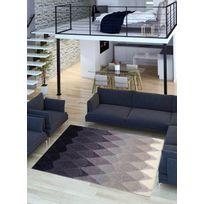 UN AMOUR DE TAPIS - Tapis ACACIA violet Tapis Moderne 170 x 240 cm violet 170 x 240 cm