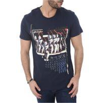 Guess - Tee Shirt Coton Printé M82i24 - Jeans