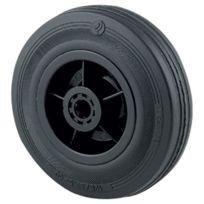 Tente - Roue De Manutention Caoutchouc Noir - Ø roue mm:200 - Charge kg:205