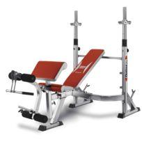 BH Fitness - Optima Press G330. Banc multi-positions pour poids libre
