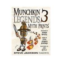 Munchkin - 332196 - Jeu De Cartes - Legends 3 Myth Prints