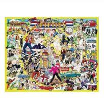 White Mountain Puzzles - Puzzle 1000 pièces - Les célébrités des Fifties