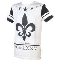 Rivaldi Black - Tee shirt manches courtes Malowana white mc tee Blanc 79324