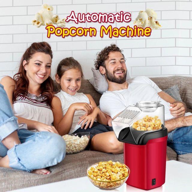 Generic Popcorn automatique de ménage enfants Mini petit maïs pop-corn machine rouge