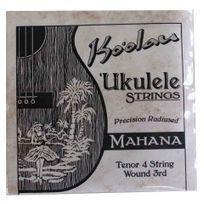 Pono Kooalau - Cordes Ukulele tenor Ko'oalau Mahana 3ième filée