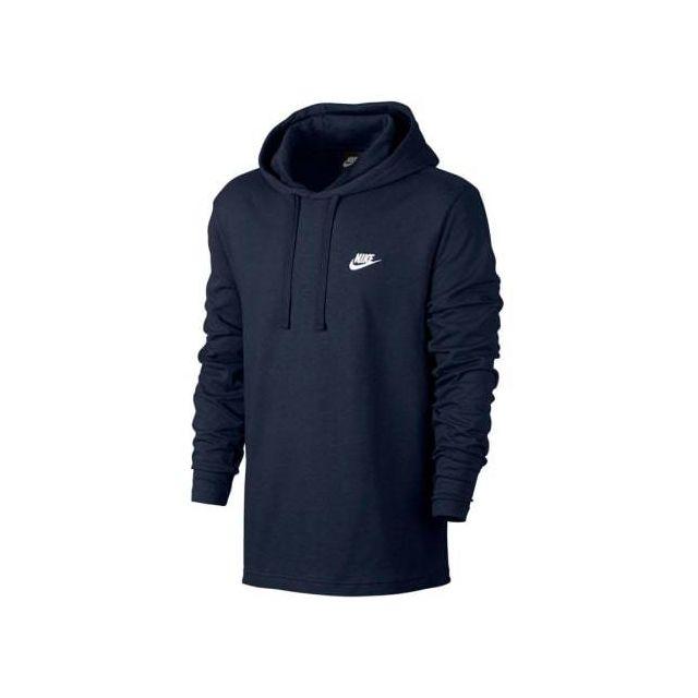 great quality save up to 80% san francisco Sweatshirt Sportswear Hoodie bleu foncé logo blanc
