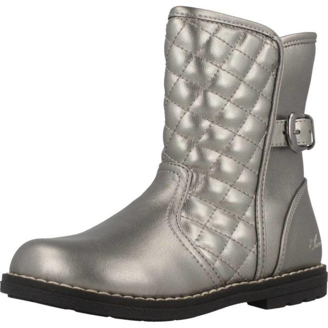 Chicco Boots, bottines et bottes enfant Celly, Argenté