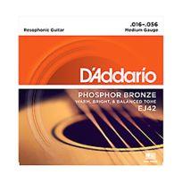 D'Addario - Ej42 Phosphor Bronze Resophonic 16-56