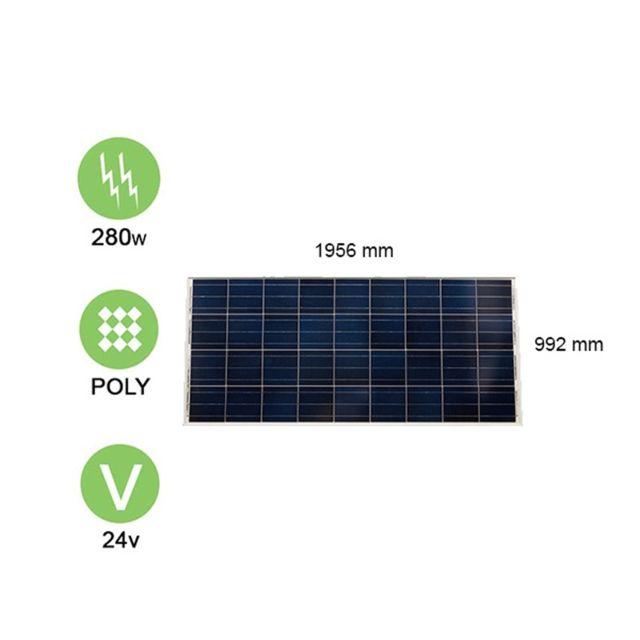 victron panneau solaire 290w 24v polycristallin energy pas cher achat vente panneaux. Black Bedroom Furniture Sets. Home Design Ideas