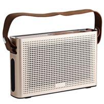Auto-hightech - Enceinte Bluetooth 4.0 Support de haut-parleur Aux Fonction d'entrée Microphone Poignée
