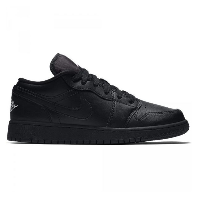 c253da9cb0a0 Jordan - Chaussure de Basket Air jordan 1 low Bg Noir pour Junior Pointure  - 38