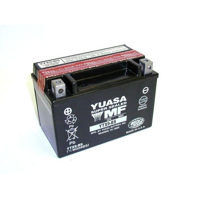 yuasa batterie moto agm ytx9 bs pas cher achat vente batteries rueducommerce. Black Bedroom Furniture Sets. Home Design Ideas