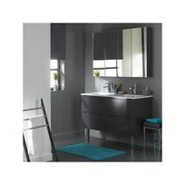 Meuble salle de bain blanc laque achat meuble salle de bain blanc laque pas cher rue du commerce - Meuble salle de bain rue du commerce ...