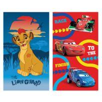 Le Roi Lion - Drap de plage La Garde du Roi Lion + 1 drap de plage Disney Cars offert