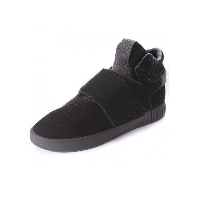 competitive price 9f3ea de22f Adidas originals - Chaussures Tubular Invader Strap Noir Homme Adidas