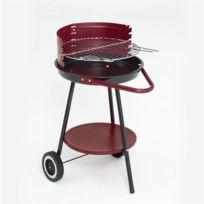 Grill Chef - Barbecue charbon sphérique et tablette