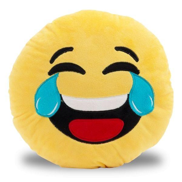 Totalcadeau   Coussin smiley pleure de rire   pas cher Achat