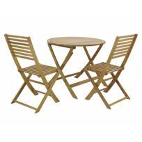Soldes CARREFOUR - HONFLEUR - Salon de jardin bas - 1 table basse ...