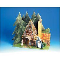 Aue Verlag - Maquette en carton : Univers du conte : Hansel et Gretel