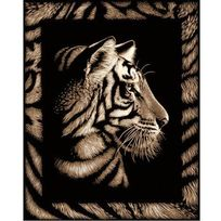 Oasis - Scraper tigre avec frise