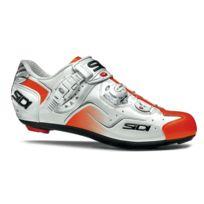 Sidi - Kaos Blanche Et Orange Vernie Chaussures Vélo route