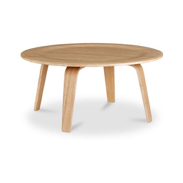 Charles Bois Naturel Plywood Style Table Privatefloor Eames Basse R35Lj4A