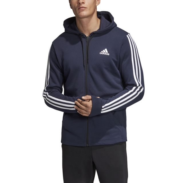 Adidas Veste à capuche Must Haves 3 Stripes French Terry